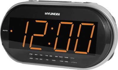 Радиочасы Hyundai H-1543  (Silver) - общий вид