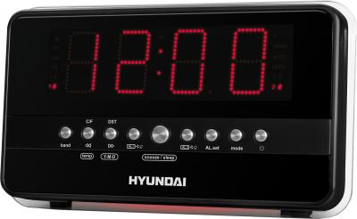 Радиочасы Hyundai H-1549 (Black) - общий вид