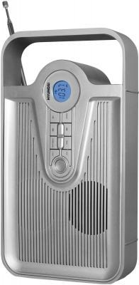 Радиоприемник Hyundai H-1627 Silver - общий вид