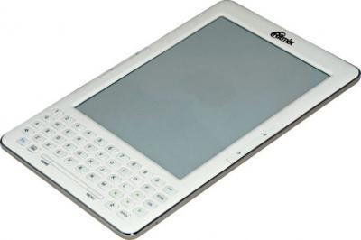 Электронная книга Ritmix RBK-750 (White) - общий вид