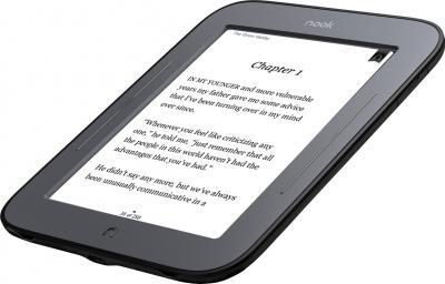 Электронная книга Barnes & Noble Nook Simple Touch Reader (с подсветкой) (microSD 4Gb) - общий вид