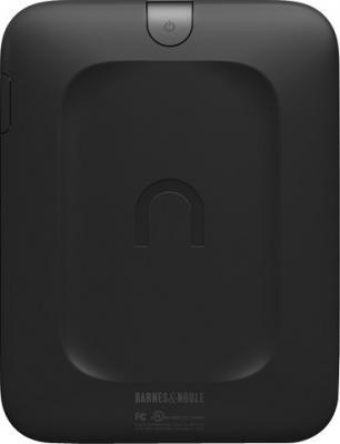 Электронная книга Barnes & Noble Nook Simple Touch Reader (с подсветкой) (microSD 4Gb) - вид сзади