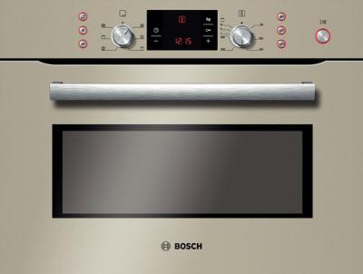 Электрический духовой шкаф Bosch HBC84K533 - вид спереди