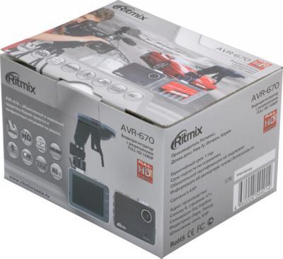 Автомобильный видеорегистратор Ritmix AVR-670 - коробка