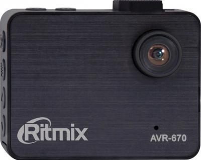 Автомобильный видеорегистратор Ritmix AVR-670 - общий вид