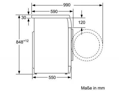 Стиральная машина Bosch WAE24364OE - схема