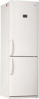 Холодильник с морозильником LG GA-B379UVQA - общий вид