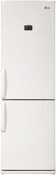 Холодильник с морозильником LG GA-B379UVQA - вид спереди