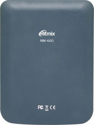 Электронная книга Ritmix RBK-620 (microSD 4Gb) - вид сзади