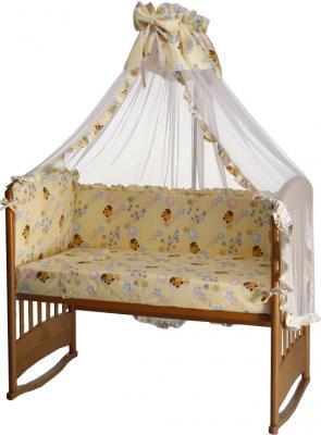 Комплект в кроватку Perina Роза Р4-02.2 (Винни бежевый) - балдахин в комплект не включен
