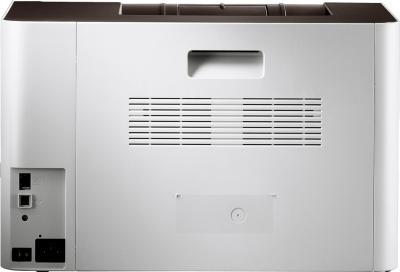 Принтер Samsung CLP-415N - вид сзади
