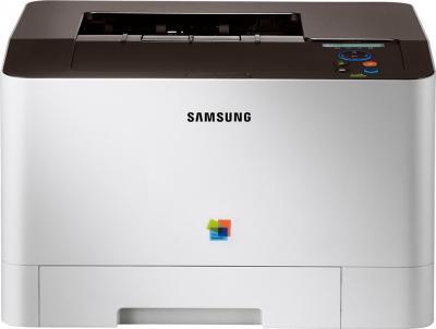 Принтер Samsung CLP-415N - фронтальный вид