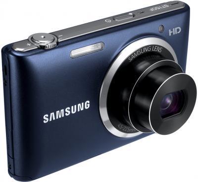 Компактный фотоаппарат Samsung ST150F Black (EC-ST150FBPBRU) - общий вид