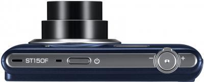 Компактный фотоаппарат Samsung ST150F Black (EC-ST150FBPBRU) - вид сверху
