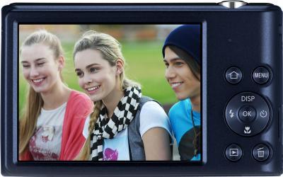 Компактный фотоаппарат Samsung ST72 Black (EC-ST72ZZBPBRU) - вид сзади
