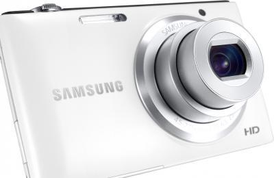 Компактный фотоаппарат Samsung ST72 White (EC-ST72ZZBPWRU) - общий вид