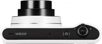 Компактный фотоаппарат Samsung WB30F White (EC-WB30FZBPWRU) - вид сверху