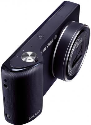 Компактный фотоаппарат Samsung Galaxy Camera EK-GC100 (черный) - общий вид