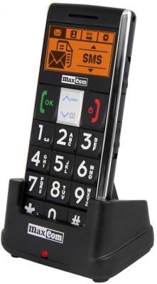 Мобильный телефон MaxCom MM470BB - на подставке