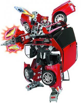 Робот-трансформер Happy Well Митсубиси Лансер Эволюшен IX (51010) - общий вид