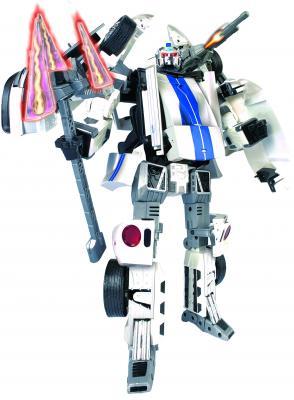Робот-трансформер Happy Well Форд Джи Ти (51020) - общий вид