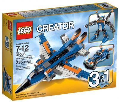 Конструктор Lego Creator Истребитель (31008) - упаковка