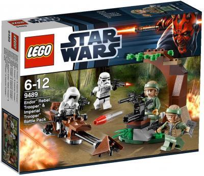 Конструктор Lego Star Wars Повстанцы на Эндоре и штурмовики Империи (9489)  - упаковка