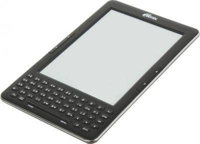 Электронная книга Ritmix RBK-750 Black (microSD 8Gb) - общий вид