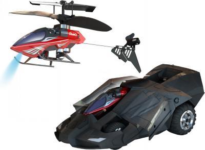 Игрушка на пульте управления Silverlit Броневик с вертолетом (85978) - общий вид