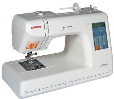 Швейная машина Janome Decor Computer 3600 - общий вид