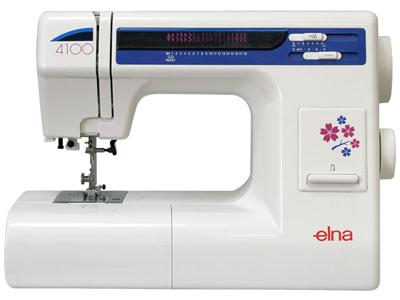 Швейная машина Elna 4100 - общий вид