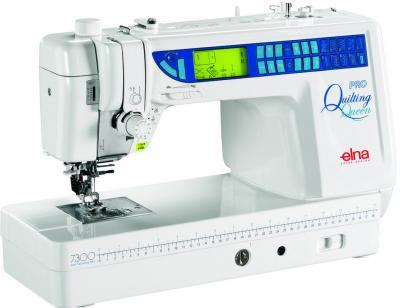Швейная машина Elna 7300 - общий вид