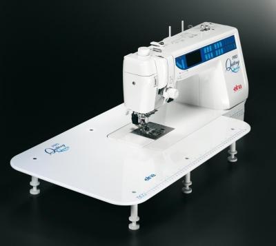 Швейная машина Elna 7300 - расширенная рабочая поверхность