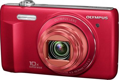 Компактный фотоаппарат Olympus VR-350 Red - общий вид