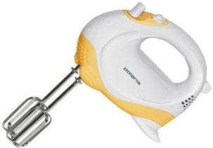 Миксер ручной Polaris PHM2010 (белый/желтый) - вполоборота