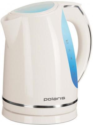 Электрочайник Polaris PWK1705CL White - вполоборота