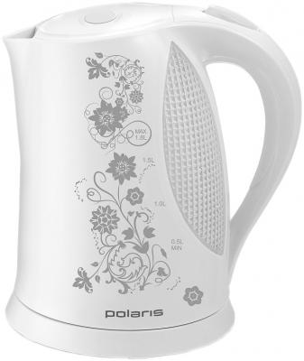 Чайник Polaris PWK1822CLR Floris White-Gray - вполоборота