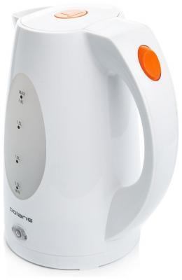 Электрочайник Polaris PWK1885C (бело-оранжевый) - вполоборота