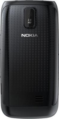 Мобильный телефон Nokia Asha 308 Black - задняя панель