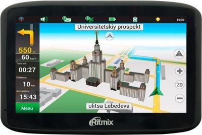 GPS навигатор Ritmix RGP-560 - вид спереди