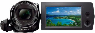 Видеокамера Sony HDR-CX280E Black - дисплей