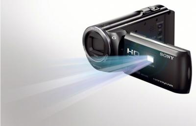 Видеокамера Sony HDR-PJ320E Black - проектор