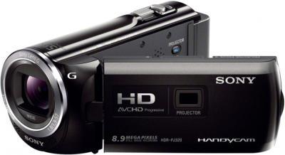 Видеокамера Sony HDR-PJ320E Black - общий вид