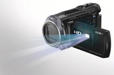 Видеокамера Sony HDR-PJ650E Black - проектор