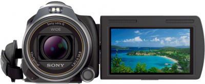 Видеокамера Sony HDR-PJ650E Black - дисплей