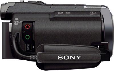 Видеокамера Sony HDR-PJ650E Black - входы/выходы