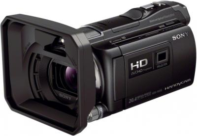Видеокамера Sony HDR-PJ650E Black - широкоугольная насадка