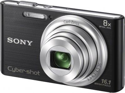 Компактный фотоаппарат Sony Cyber-shot DSC-W730 Black - общий вид