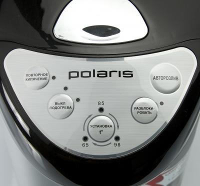 Термопот Polaris PWP2805 Silver-Black - дисплей