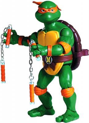 """Игровой набор Playmates Toys """"Черепашки Ниндзя"""" Микеланджело (91080/91084) - общий вид"""